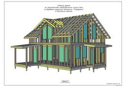 Проект для сборки каркасного дома