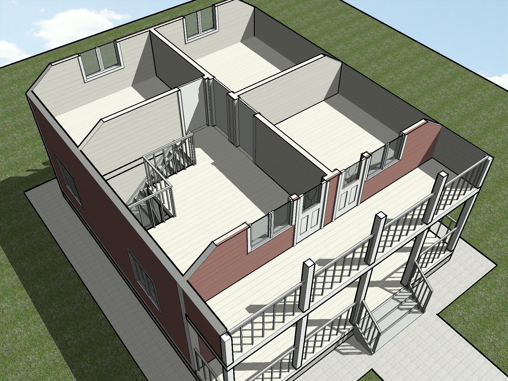 КД-16 - Общий вид 2-го этажа