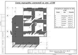 Планировка каркасного дома 9х11