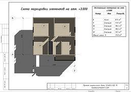 Планировка каркасного дома 9,6х8,6
