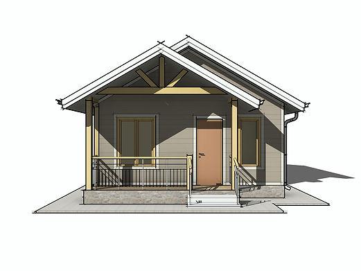 Каркасный дом 9х10,6 метров своими руками