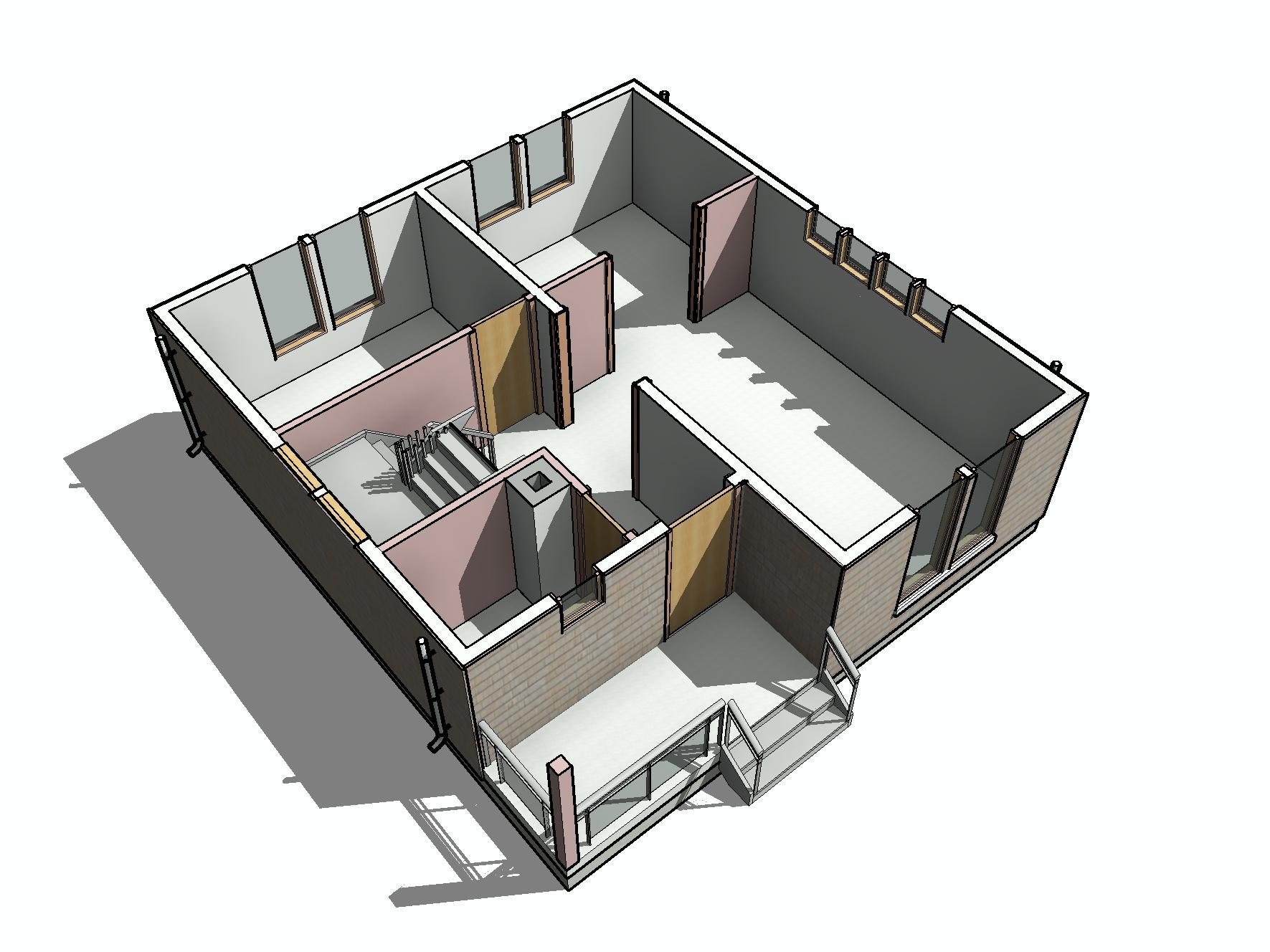КД-31 - общий вид 1-го этажа