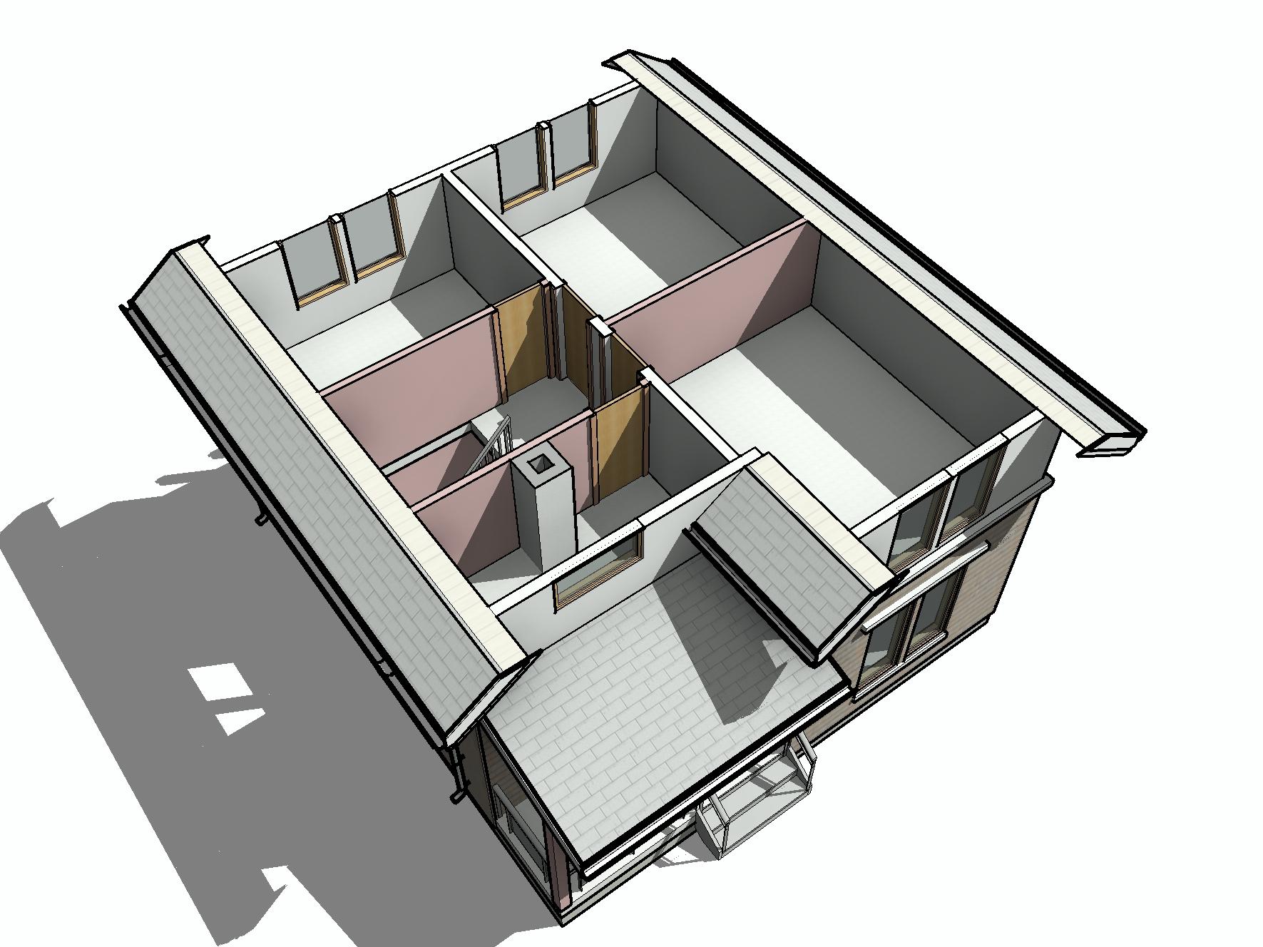 КД-31 - общий вид 2-го этажа