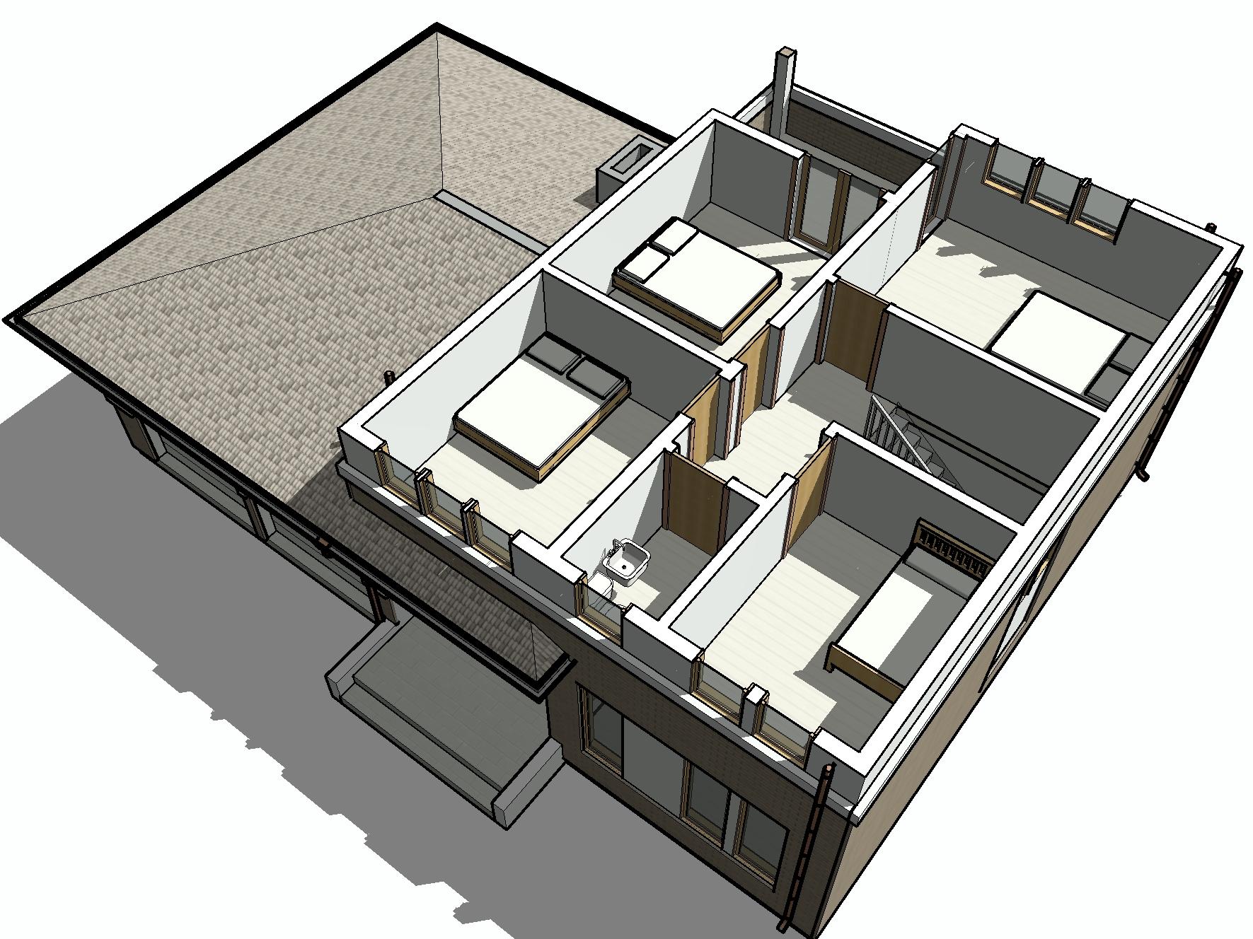 КД-29 - общий вид 2-го этажа