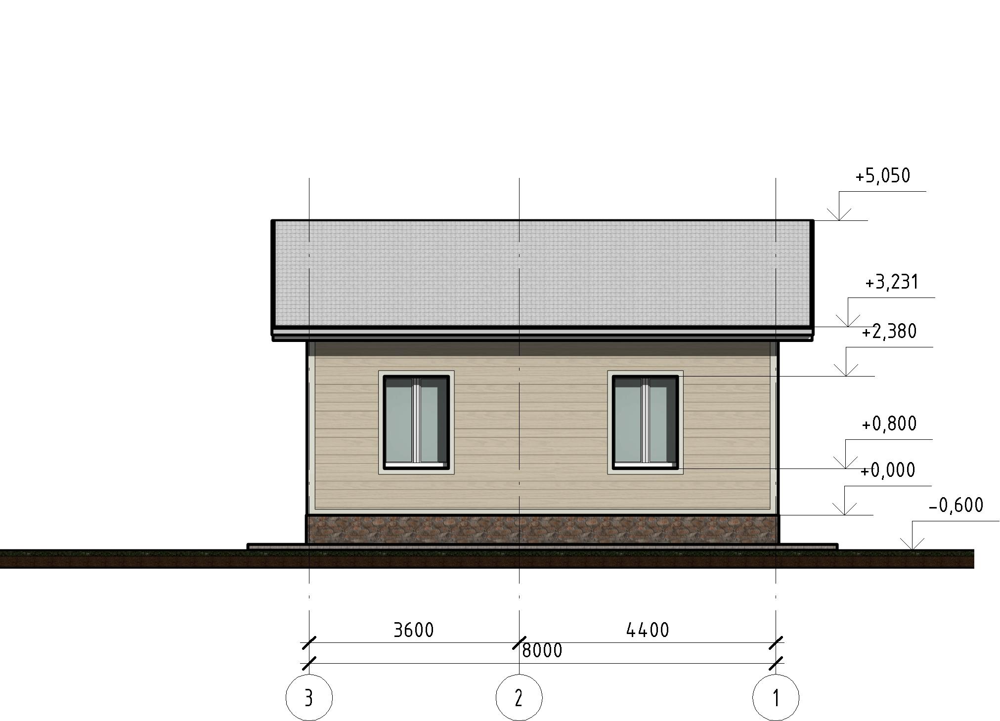 Проект КД-33 - Фасад 3-1