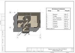 Планировка каркасного дома 6х9