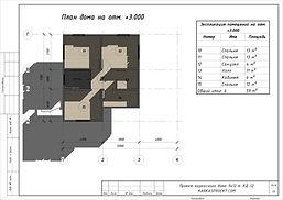 Планировка каркасного дома 8х10