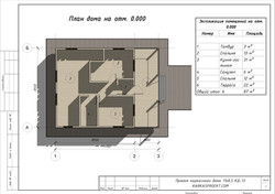 КД-13 - План дома