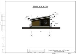 КД-21 - Фасад Б-А