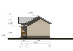 Проект КД-33 - Фасад А-В