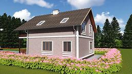 каркасный дом 9х11 метров