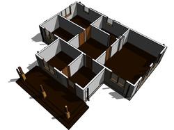 КД-27 - общий вид планировки дома