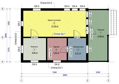 Проект КД-09 - Лист - АР-09 - Маркировоч