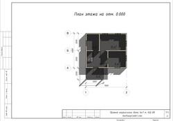 КД-08 План 1-го этажа