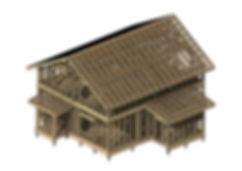 КД-36 КР - 3D вид - Общий вид каркаса до