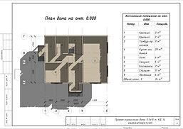 Планировка каркасного дома 11х8,5