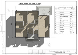 КД-28 - План дома