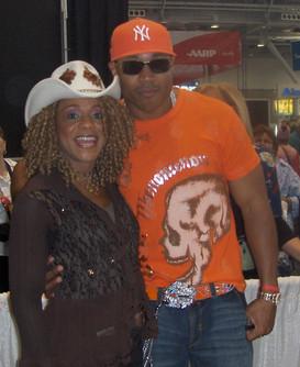 Petrella with LL Cool J