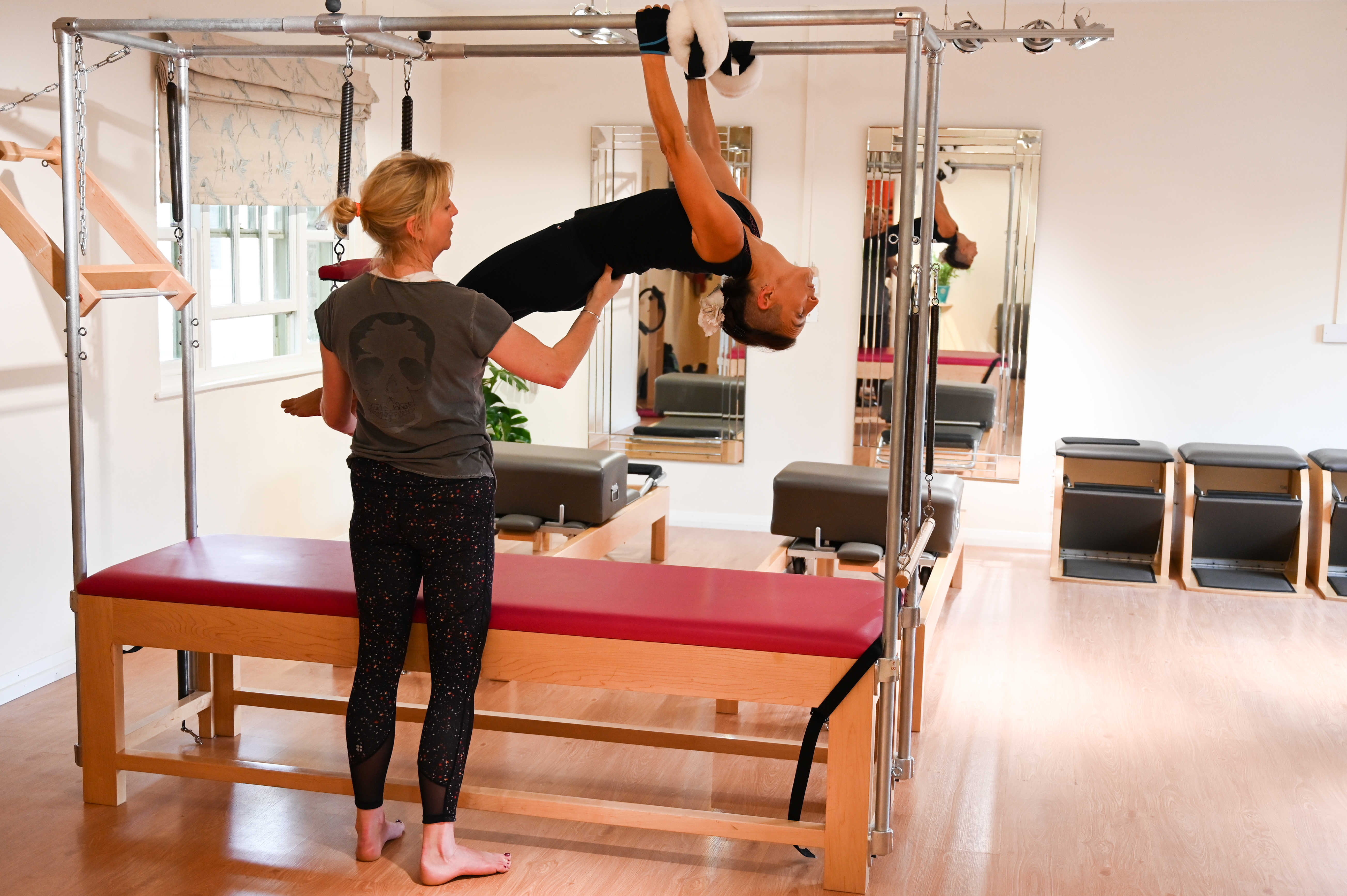 Pilates equipment class in Cirencester