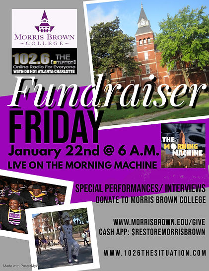 Fundraiser Friday Radio - Made with Post