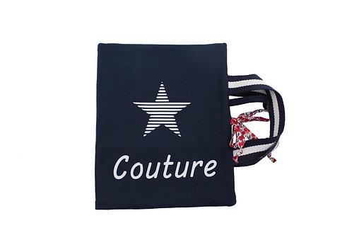 Pochette de couture, accessoires et trousse de rangement en option