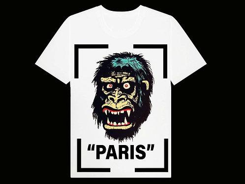 PARIS COLLECTION MONKEY TEE