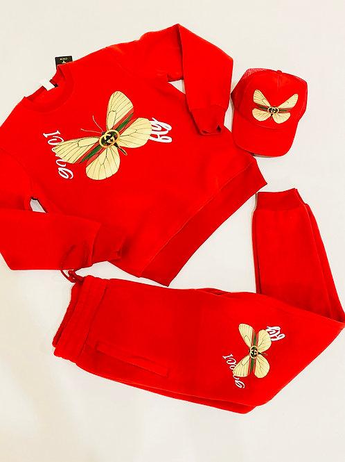 Butterfly sweatsuit
