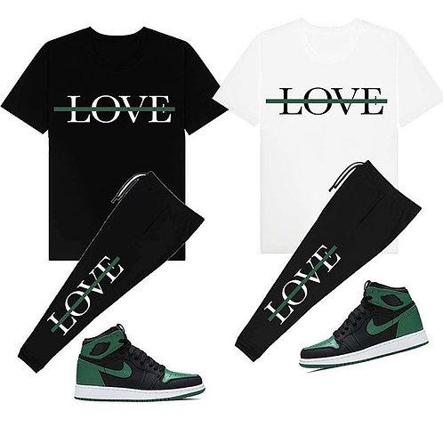 LOVE TEE/JOGGERS