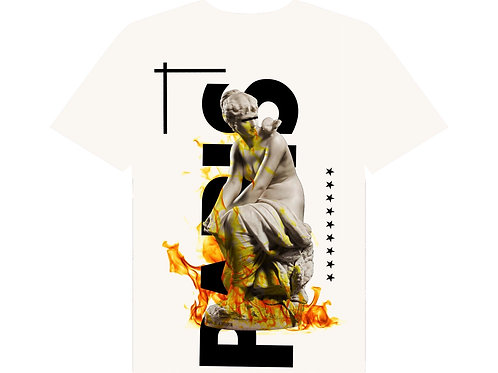 Paris fire tee