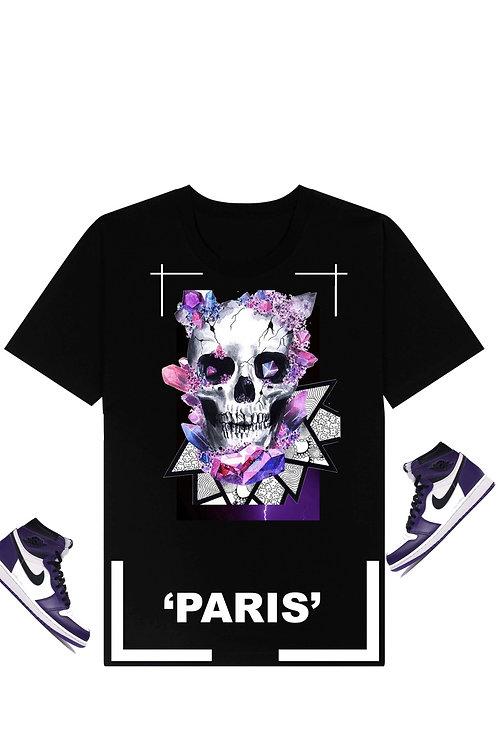 Paris skull tee