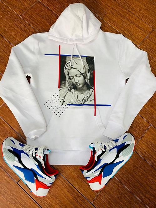 Paris face hoodie