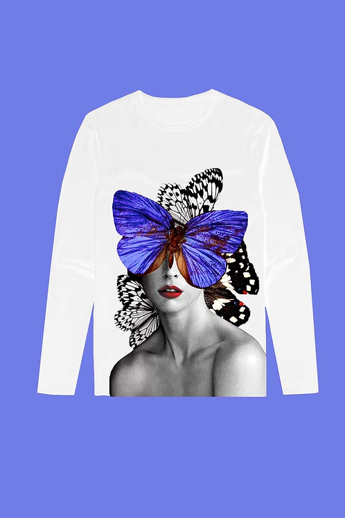 BUTTERFLY FACE TEE