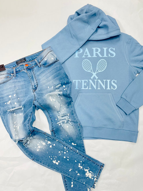 PARIS TENNIS CREAW NECKS