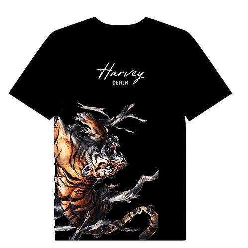 HARVEY DENIM TIGER TEE