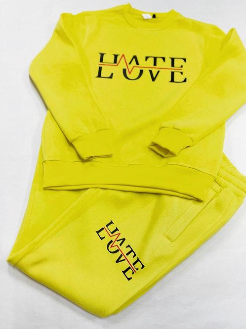 LOVE HATE SWEATSUIT