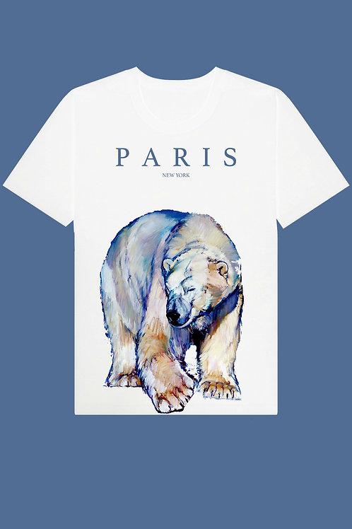 PARIS BEAR TEE