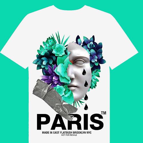 Paris face tee colors