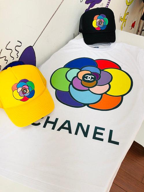 FLOWER TEE/ HAT