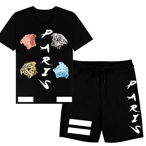 Paris shorts /TEE