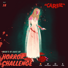 Carrie (1976) dir. Brian De Palma