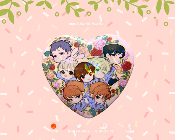 Ouran High School Host Club Holographic