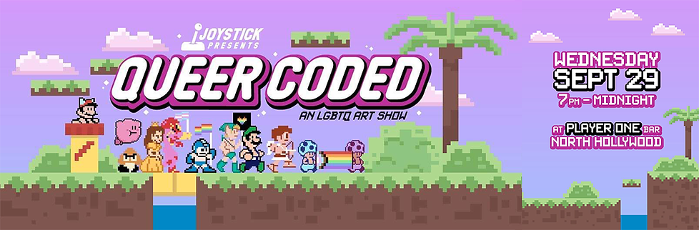 Queer Coded LGBTQ Art Show