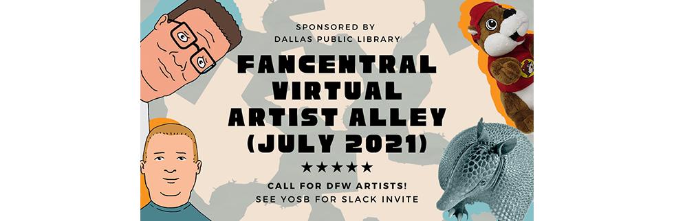 FanCentral Virtual Artist Alley