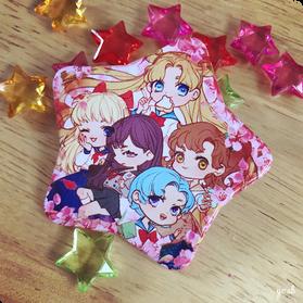 Sailor Moon inner scout star button