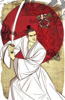 Samurai Jack & Aku