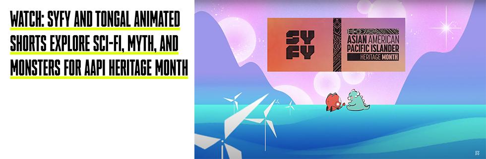 SYFY AAPI Animated Shorts