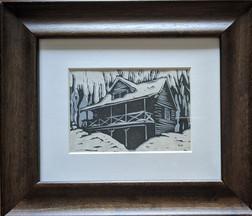CQStudios Woodcut Print