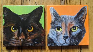 CQStudios Cat Portraits