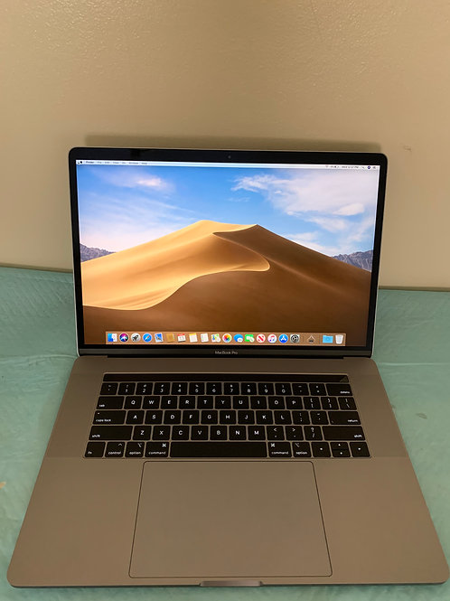 """2017 Macbook Pro 15"""", loaded, Touch Bar, new battery!"""