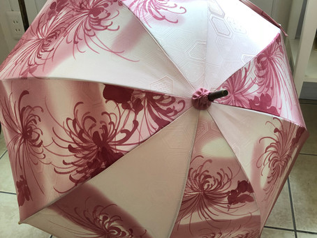 着物リメイク日傘:新しいサンプル